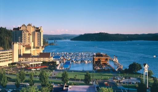 Coeur d' Alene Resort in Idaho