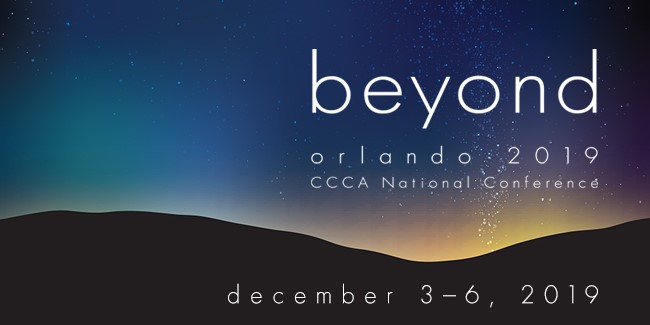 beyond - CCCA 2019 National Conference
